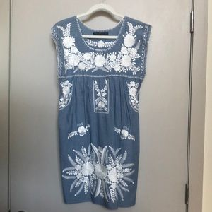 Mexican inspired Zara dress